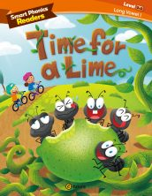 Smart Phonics Readers 3-2. Time for a Lime